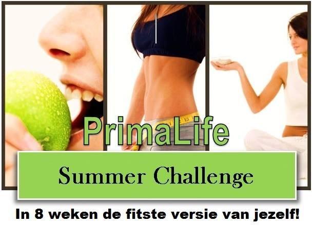 Prima Life Summer Challenge start 1 mei!