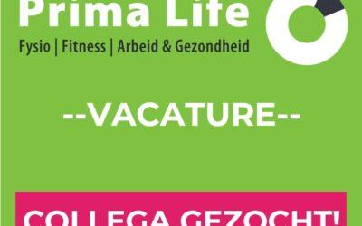 Vacature: Algemeen fysiotherapeut waarneming