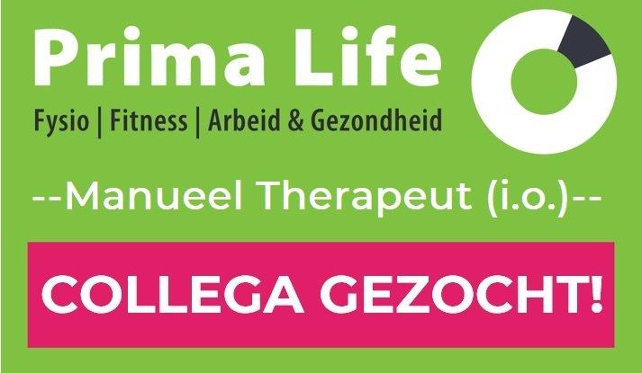 Vacature: Manueel Therapeut (i.o.) 24-40 uren per week