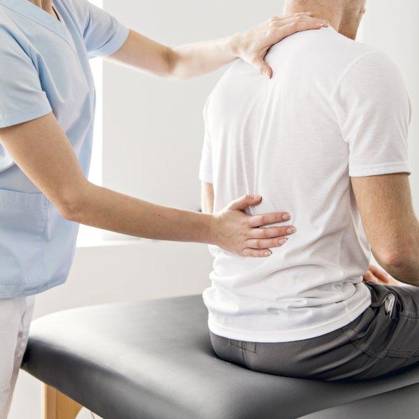 patient en manueel therapeut